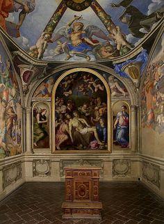 Florence, Palazzo Vecchio Cappella Eleonora