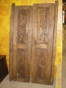 old mesquite doors & Mesquite/cedar Spanish Colonial Doors \u2022 Mexico \u2022 1800\u0027s | Antiques ...