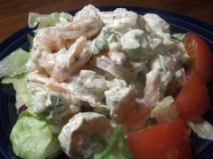 Ina Garten s Shrimp Salad Barefoot Contessa from Foodcom Take a break from the heat of the kitchen and whip up this perfect summer salad Shrimp Dishes, Shrimp Recipes, Fish Recipes, Shrimp Meals, Barefoot Contessa, Food Network Recipes, Food Processor Recipes, Cooking Recipes, Thm Recipes