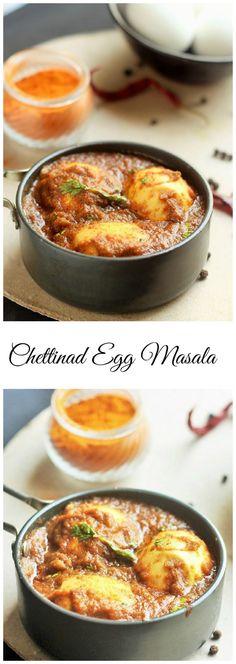 Easy and delicious Chettinad Egg Masala
