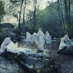 Watery ghosts