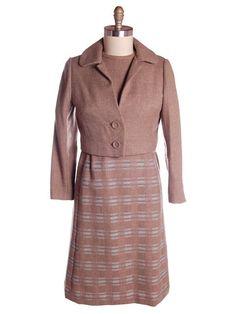 Vintage Wool Suit/Dress Daytons Oval Room 1960s