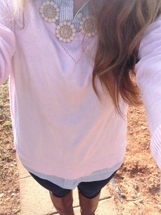 Perfect preppy fall outfit.