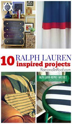 10 Ralph Lauren Inspired Projects