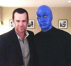 Phil Burton of Human Nature Spotted at Blue Man Group Round Sunglasses, Mens Sunglasses, Blue Man Group, Las Vegas Strip, Human Nature, Motown, Celebrities, Travel, Viajes