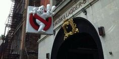 FDNY Hook & Ladder 8 Pays Homage To Harold Ramis By Hanging The 'Ghostbusters' Sign Again | Elite Daily