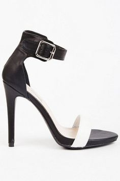 Selina Open Toe Heel  $33