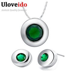Find More Jewelry Sets Information about Jewelry Sets for Woman Bijoux 2016 New Fashion Garnet Emerald Ruby Sapphire Blue Stone Crystal Necklace Earrings Mothers T424,High Quality set bank,China set nail Suppliers, Cheap set paper from ULove Fashion Jewelry Store on Aliexpress.com