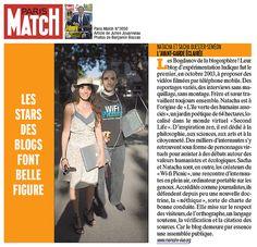 Paris Match - blogueurs : Natacha Quester-Séméon et Sacha Quester-Séméon (MemoireVive.tv), via Flickr. 2007