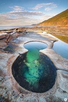 Figura de 8 piscina, Royal National Park, Nueva Gales del Sur