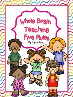 Free!  Whole Brain Teaching  The Five Rules Cute and Colorful!  :)