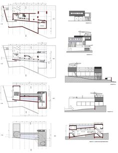 Rem Koolhaas - Villa Dall'Ava 2D dwg Henrique Curto