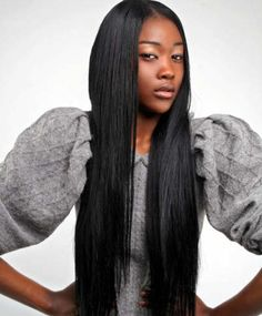 Straight Weave Styles Black Women | Like this Article? Share it!