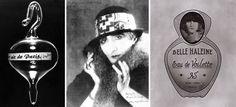 """""""Air de Paris"""" (1919) """"Duchamp as Rrose Sélavy"""" par Man Ray (1920) """"Belle Haleine, Eau de Voilette"""" (1921)"""