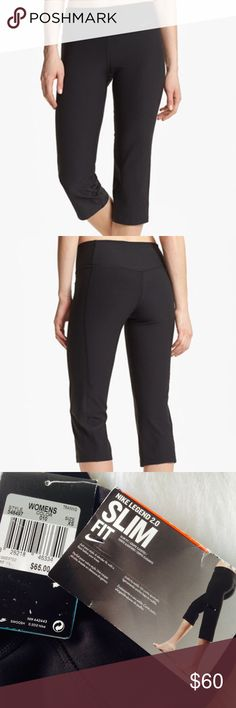 🆕🍓Nike Capri Nike Capris✨  Size: XS  Color: Black  New With Tags✨  High-tech moisture-wicking Dri-FIT fabric made with recycled polyester brings cool, dry comfort to slim, stretchy capri pants. The wide waistband won't dig or bind and is contoured with a V-shape in back for a flattering fit and confident coverage. Add to your collection today✨  ⭐️No Trades ⭐No Modeling ⭐️Use The Offer Button ⭐️15% Off 2 Or More Items ⭐️Free Gift With Every Order ⭐️Same Day / Next Day Shipping Nike Pants…