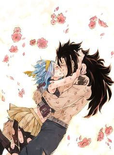Voici des photos du Gale le couple Gajeel et Reby de Fairy Tail #nonfiction # Non-fiction # amreading # books # wattpad