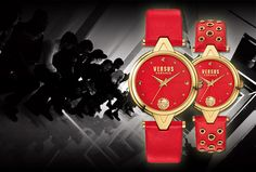 Perfectly Proportioned Versus Versace V-Versus Watch Collection