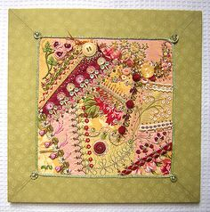 Crazyquilt from Sharon class (05-2007) | Flickr - Photo Sharing!