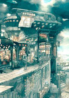 Art by TekkonKinkreet