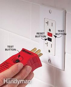 Testing GFCI Outlets Electrical safety check   *