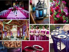 inspiration décoration mariage thème oriental