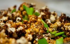 Candied popcorn surely can't be a Chinese dish, you may think. Sadly, it isn't, which means we'll have to do it under the guise of fusion cooking.