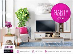 Yaza girerken evinizi yenilemeye oturma odanızdan başlayın, Nanty TV Ünitesi ile yaşam alanınıza ferah bir hava katın. ~ www.rngmall.com ☎ 0242 514 43 30 ■ Çevreyolu üzeri Merkez Mah. Tosmur/Alanya ~ #alanya #mobilya #dekorasyon #decor #dekor #evdekorasyonu #evim #instagram #instadaily #instalike #instaphoto #dekorasyonfikirleri #evdizayn #furniture #home #antalya #tv #tvünitesi http://turkrazzi.com/ipost/1521585321485418652/?code=BUdwcnGlkCc