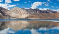Pangong Tso Lake, India-China