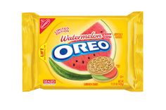 Food infographic Oreo's Latest Limited-Edition Flavor: Watermelon. Infographic Description Oreo's Latest Weird Oreo Flavors, Cookie Flavors, Oreo Cake, Oreo Cookies, Oreo Treats, Jolly Rancher, Oreos, Golden Cookie, Decorated Cookies
