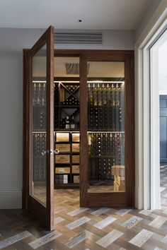 unique wine cellar/ storage ideas that will inspire you to keep your wine in a creative way. Wine Cellar Basement, Home Wine Cellars, Wine Cellar Design, Wine Display, Wine Wall, Wine Cabinets, Wine Fridge, Italian Wine, In Vino Veritas