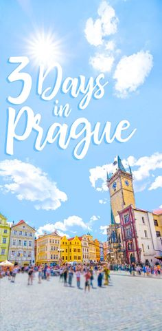 A step by step guide on how to tackle the city of Prague in just 3 days! Complete Prague itinerary with things to do, places to eat, and where to stay. Here is our insider guide on some of the best ways to spend the most amazing 3 days in Prague!  via @gettingstamped #Prague #Europe #Travel