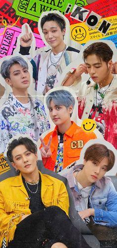 Ikon Member, Ikon Wallpaper, Kpop Posters, Kim Hanbin, Bobby, Celebs, Wallpapers, Cute, Famous People