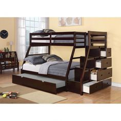 17 Best Trundle Bunk Beds Images Bunk Beds Bunk Bed Rooms Girl Room