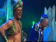 EXTRAS Bloopers: Les Dennis & Ricky Gervais - Aladdin & The Genie