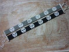 Hand-woven beaded bracelet bracelet Miyuki native by MadeByMandyNL
