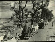 Mass migration during independence of India in 1947   These photographs taken in 1947 during the period of partition of India and creation of Pakistan.