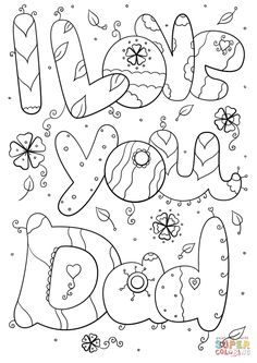 Daddy Coloring Pages Youre The Best Dad Ever Coloring Page Free Printable Coloring Pages. Daddy Coloring Pages Coloring Disney Princess Birthday Color. Fathers Day Coloring Page, Birthday Coloring Pages, Valentines Day Coloring Page, Kids Fathers Day Crafts, Fathers Day Art, Happy Fathers Day, Happy Father's Day Husband, Father's Day Printable, Printable Crafts