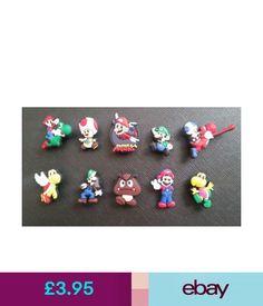 fda000064fa81 Charms  amp  Charm Bracelets 10 X Super Mario Bros Croc Shoe Charms Crocs  Jibbitz Wristbands