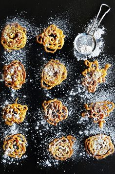 Funnel cake is a regional food popular in North America at carnivals, fairs, sporting events, and seaside resorts. In some carnivals, theme parks, and resorts, etc. there are funnel fries. Funnel c…