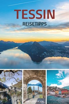 Ticino Attractions: The 14 most beautiful places in the canton of canton - Anita Ch. Canton, Travel Tags, Reisen In Europa, Places Of Interest, Van Life, The Good Place, Places To Go, Beautiful Places, Road Trip