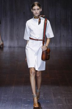 Gucci Spring/Summer 2015 ready-to-wear #MFW #Milan #FashionWeek