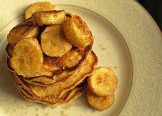 Cinnamon Oatmeal Raisin Pancakes.