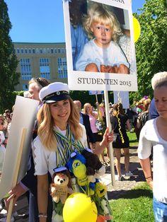 #girl #blonde #sweden #graduation #student #studenten #summer