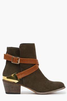 Hunter green boots