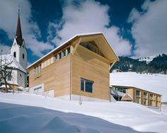 Vorarlberg: Gemeindezentrum Blons © Bruno Klomfar/Vorarlberg Tourismus
