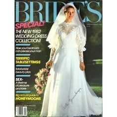 my wedding dress! Vintage Gowns, Vintage Bridal, Vintage Weddings, Bridal Gowns, Wedding Gowns, 1980s Wedding, Here Comes The Bride, Marry Me, Bridal Style