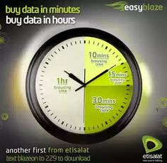 Etisalat Introduces New Unlimited Time-based Data Plans   After Etisalat removed their timely data plans a couple of months later they've reintroduced new unlimited download plans called Etisalat BlazeOn. This new re-introduced timely unlimited internet bundle is perfect for those that have heavy files to download. So if you will like to activate BlazeOn plan then you will get 10min for N50 15min for N70 30min for N120 or go for the 1hour for N200 plan.How To Activate The Timely Unlimited…