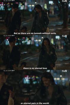 Korean Drama Funny, Korean Drama Quotes, Korean Drama Movies, Mama Quotes, Lovers Quotes, Inspiring Quotes About Life, Inspirational Quotes, Korea Quotes, Pop Lyrics