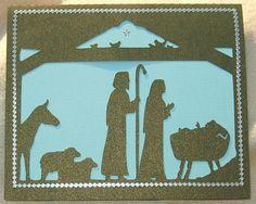 Nativity -silhouette