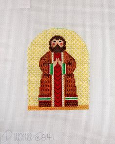 Diane's Taking Time Out To Needlepoint, st. joseph  nativity figure